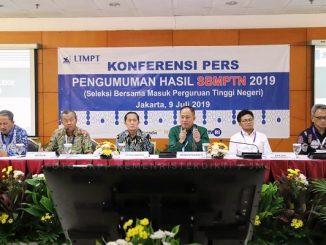 Konferensi Pers Pengumuman Hasil SBMPTN 2019 di Jakarta