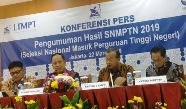 Pengumuman hasil SBMPTN 2019