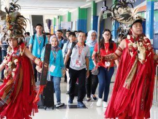 Penyambutan Peserta OSN SMA 2019 di Manado