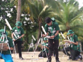 Peserta OSN Kebumian Tingkat SMA di Manado