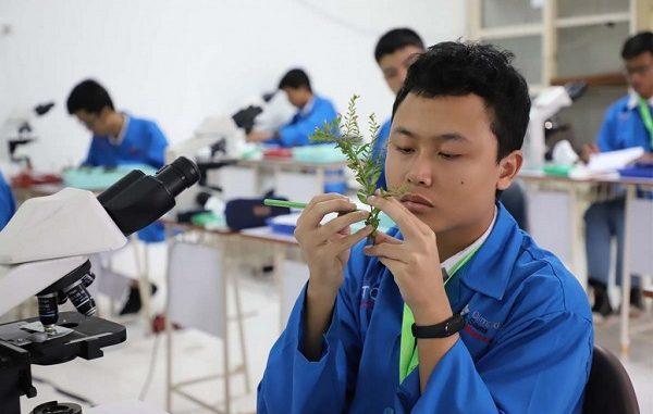 Peserta OSN Biologi 2019 Tingkat SMA di Manado