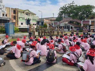 Peserta OSN Geografi 2019 Tingkat SMA di Manado