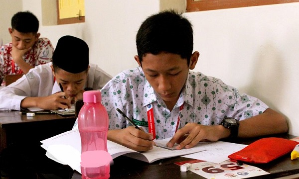 Peserta OSN Matematika 2019 Tingkat SMP di Yogyakarta
