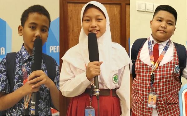Peserta OSN SD 2019 di Yogyakarta