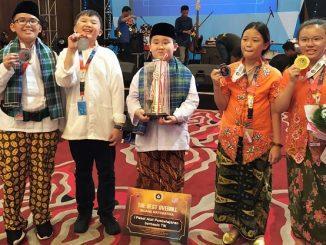 Peserta didik SDK PENABUR Jakarta yang memperoleh medali di OSN 2019 Yogyakarta