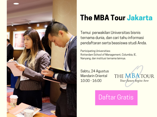 The MBA Tour Jakarta 2019