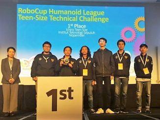 Tim Ichiro ITS Juara 3 Robocup 2019 di Australia