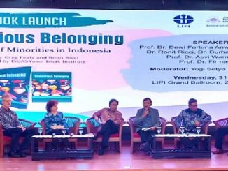 "Peluncuran buku ""Contentious Belonging – The Place of Minorities in Indonesia"""