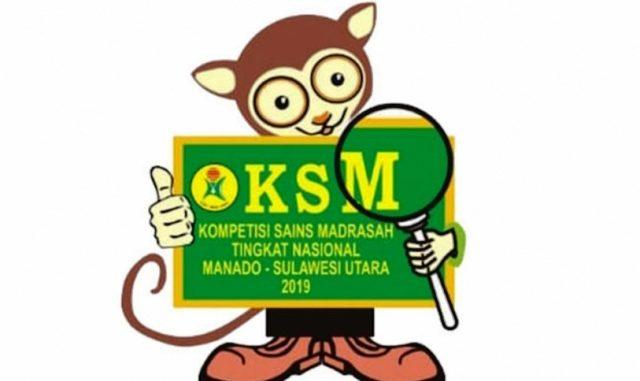 Simadrius, maskot Kompetisi Sains Madrasah 2019