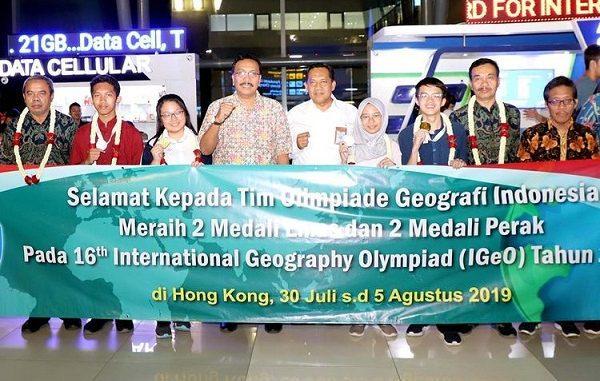Tim Olimpiade Geografi Indonesia