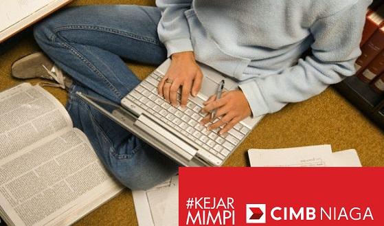Beasiswa buat mahasiswa S1 semester 5 dari CIMB Niaga