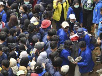 Ilustrasi demo mahasiswa