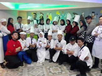 Para siswa SMK di French Pastry and Bakery Tahun 2019 di Hotel Horison Bekasi, 18-20 September 2019