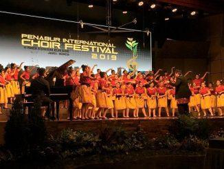 Peserta PENABUR International Choir Festival (PICF) 2019 ujuk kebolehan di hadapan para juri