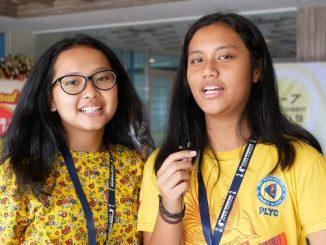 Pulkeria Anabel A dan Zefanya Ester Silitonga dari Pangudi Luhur Youth Choir Jakarta di PICF 2019
