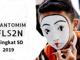 Festival dan Lomba Seni Siswa Nasional Tingkat Sekolah Dasar (FLS2N-SD) 2019 diselenggarakan di Kota Tangerang, Provinsi Banten, 15-21 September 2019.