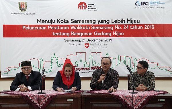 Peluncuran Bangunan Gedung Hijau di Semarang