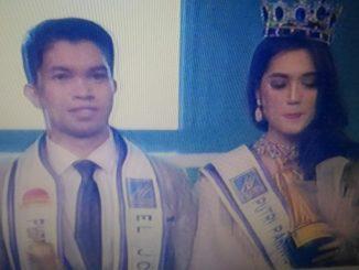 Pemenang Putra Pariwisata Nusantara (P3N) 2019 dari Sulawesi Tengah dan Pemenang Putri Pariwisata Nusantara (P3N) 2019 dari Sumatra Barat