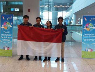 Tim IESO 2019 Indonesia di 13rd International Earth Science Olympiad (IESO) di Daegu, Korsel