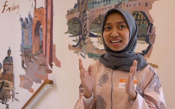 Awardee Beasiswa Studeren in Nederland (StuNed) 2019 ke Utrecht University, Rizka Primahasti Ayuni di Pre-departure Briefing Study in Holland, 3 Agustus 2019