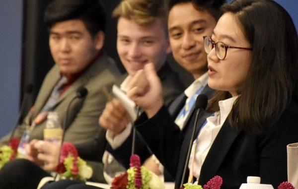 Peserta Democracy Students Conference (BDSC) 2017 di Serpong Banten