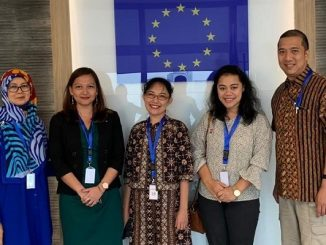 KIKA: Program Manager Erasmus+ of the EU Delegation to Indonesia, Destriani Nugroho, Education in Ireland Consultant, Miranda Hough, Communication Officer Embassy of Sweden, Amreta Sidik, Coordinator Education Promotion Netherlands Education Support Office Indonesia, Inti Dienasari dan EHEF Indonesia Coordinator, Daniel Darmawan
