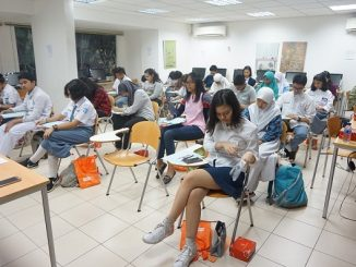 Peserta IELTS Simulation Test di Dutch Placement Day (DPD) 2016 di Jakarta
