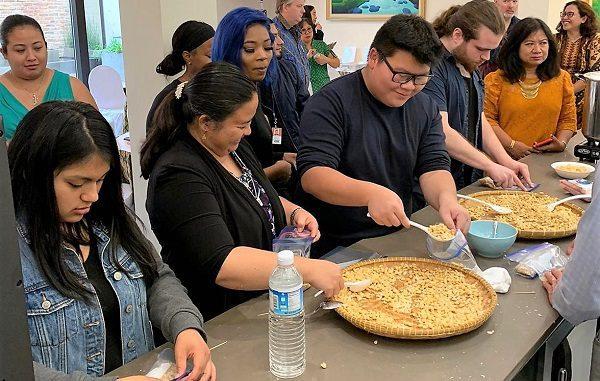 Tempe Culinary Workshop yang diselenggarakan oleh KJRI Chicago, Jumat, 11 September 2019.