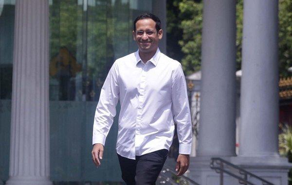 Menteri Pendidikan dan Kebudayaan (Mendikbud), Nadiem Anwar Makarim