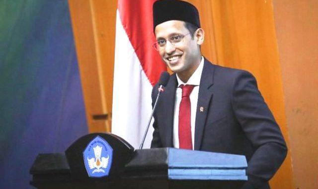 Menteri Pendidikan dan Kebudayaan (Mendikbud), Nadim Anwar Makarim