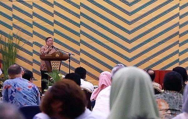 Menteri Riset dan Teknologi (Menristek) sekaligus Kepala Badan Riset dan Inovasi Nasional (BRIN), Bambang Permadi Soemantri Brodjonegoro