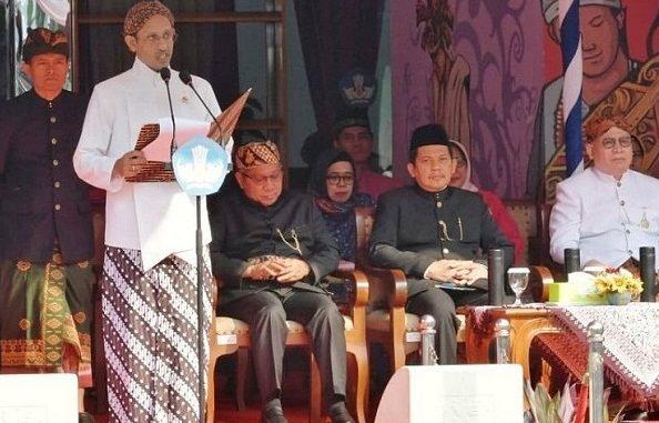 Menteri Pendidikan dan Kebudayaan (Mendikbud), Nadim Anwar Makarim.