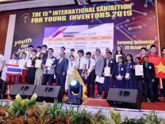Para pemenang International Exhibition for Young Inventors (IEYI) 2019