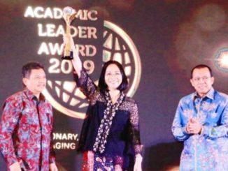 Prof. Dr. Ir. Ellen Joan Kumaat M.Sc, DEA pemenang Academic Leader dosen dengan tugas tambahan sebagai Rektor PTN BLU tahun 2019