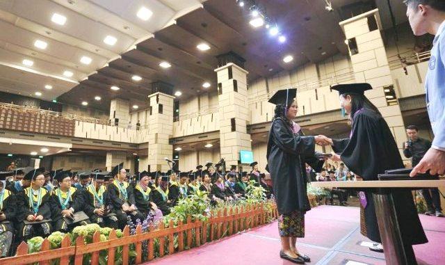 Wisuda Universitas Kristen Maranatha. (Dok.Humas UK Maranatha)