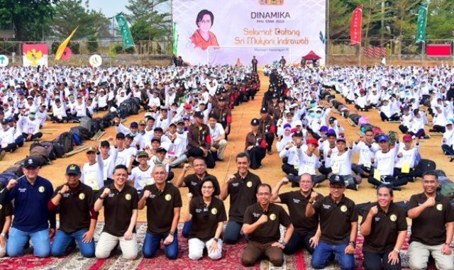 Menkeu Sri Mulyani hadir dalam kegiatan DINAMIKA PKN STAN.