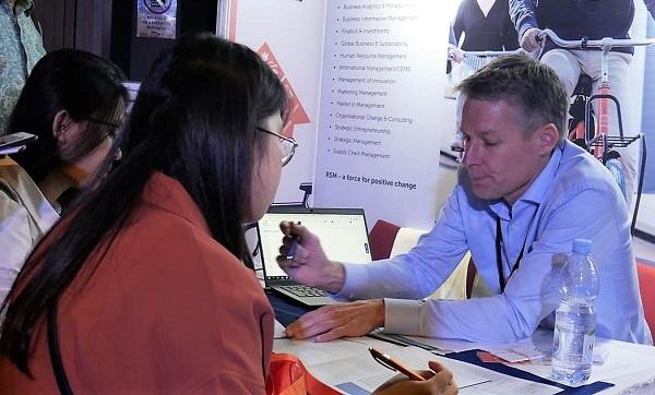 Semarak Dutch Placement Day (DPD) 2019 di Erasmus Huis Jakarta, Jumat, 1 November 2019