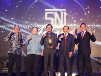 Malam penganugerahan SNI Award 2019 (Dok. Kemenristek/BRIN)