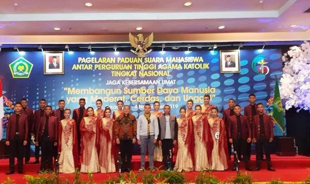 Paduan Suara STIPAS Kupang. (Dok, Stipas Kupang)