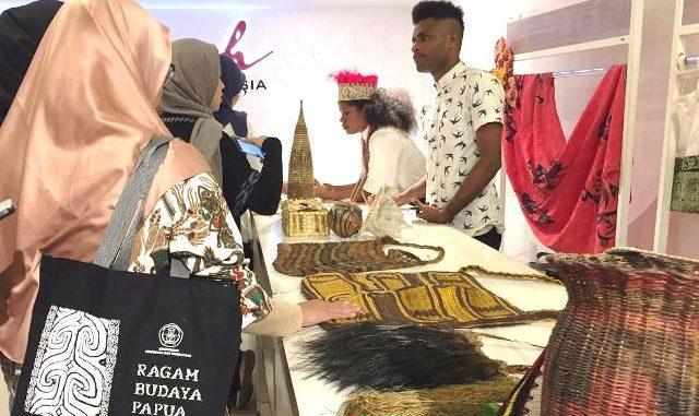 Pameran budaya Papua di Sarinah Jakarta. (Dok. Kemendikbud)