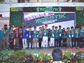 Para Pemenang Kompetisi Robotik Madrasah 2019. (Dok. Kemenag)