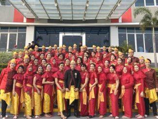 Telkom University Choir Raih Tiga Medali Dalam Karangturi International Choir Competition 2019. (Dok. TU)