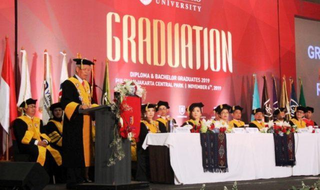 Wisuda kedua Podomoro University (Dok.Podomoro University)