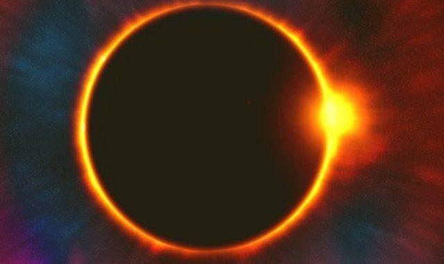 Ilustrasi: Gerhana Matahari Cincin. (Ist.)