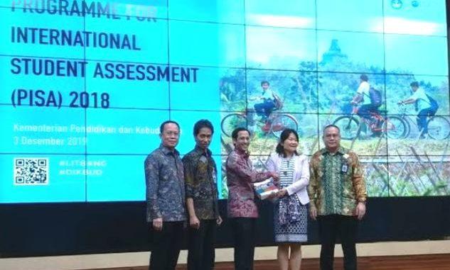 Kemendikbud merilis peringkat PISA Indonesia. (Dok. Kemendikbud)