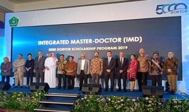 Kementerian Agama (Kemenag) menerbitkan program Integrated Master-Doktor (IMD). (Ist.)