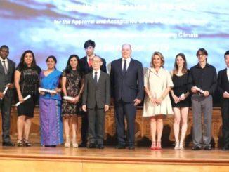 Para penerima beasiswa The Intergovernmental Panel on Climate Change (IPCC) Scholarship Award. (Ist.)