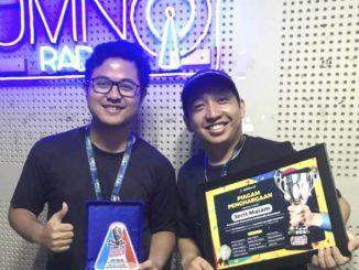 Perwakilan radio kampus UMN meraih juara pertama dalam Kompetisi Layar Radio Mahasiswa 1. (Dok.UMN)