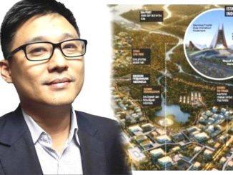 Ilustrasi: Sibarani Sofian, Jebolan ITB Pemenang Sayembara Desain Ibu Kota Baru. (Ist.)