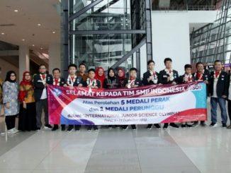 Tim Indonesia Raih 5 Perak dan 1 Perunggu di Olimpiade Sains Internasional. (Ist.)